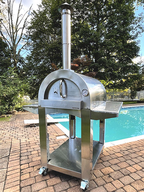 ilFornino Professional Plus Series Wood Fired Pizza Oven - 3
