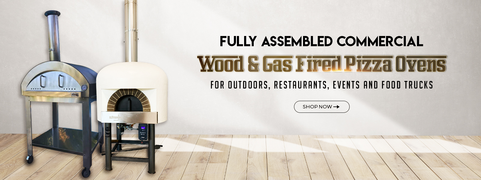 Slider-Commercial Wood Fire Pizza Oven