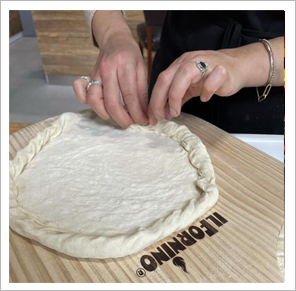 Making of Pizza Base