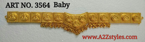 Gold Belt DJ-GLDBLT-SVSHAPE-3564