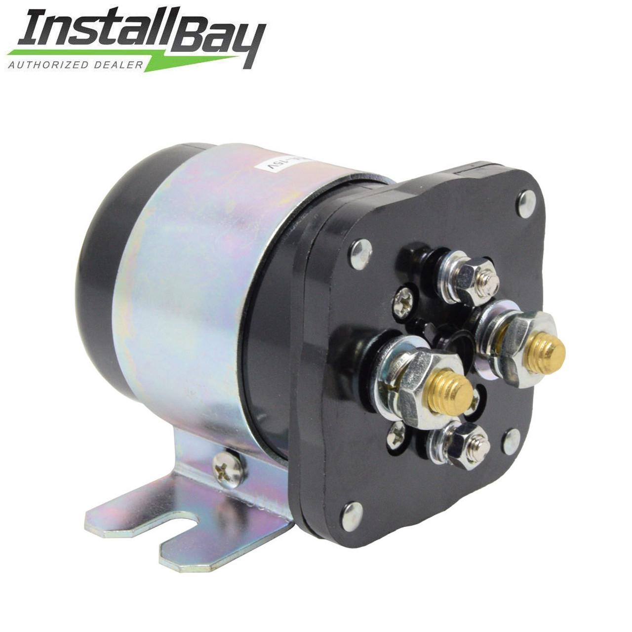 High Amp Battery >> 500 Amp Battery Isolator Relay High Current 12 Volt Ocala