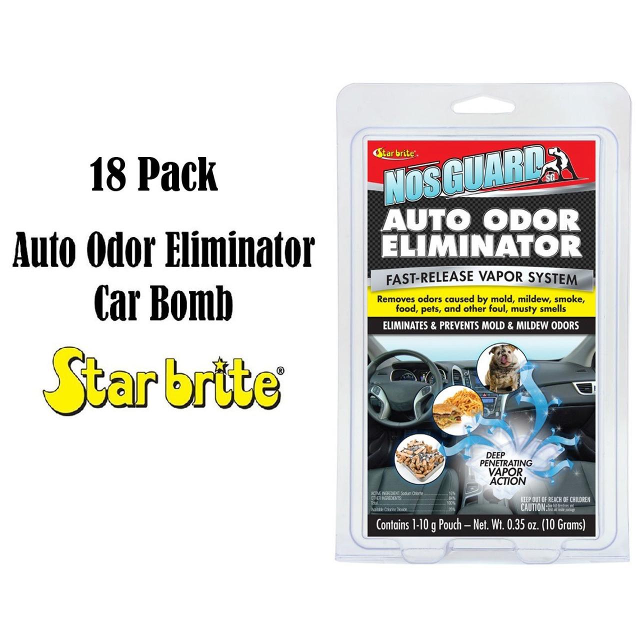 18 Pcs Star Brite Nosguard Sg Auto Odor Eliminator Car Bomb