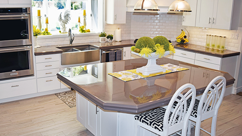Kitchen Trends for 2019 - Counter Top Epoxy