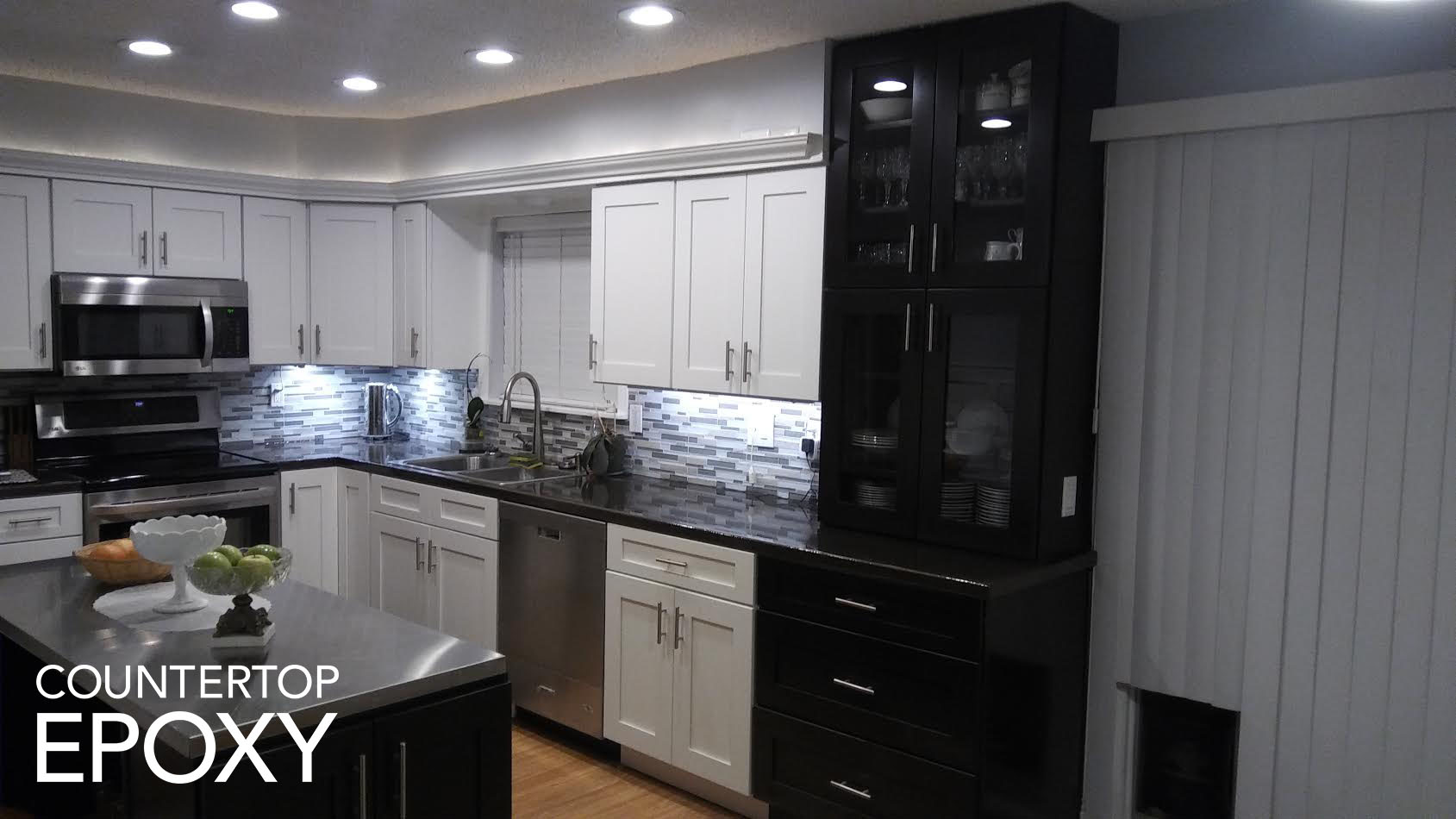How to Update Your Kitchen Cabinets - Counter Top Epoxy