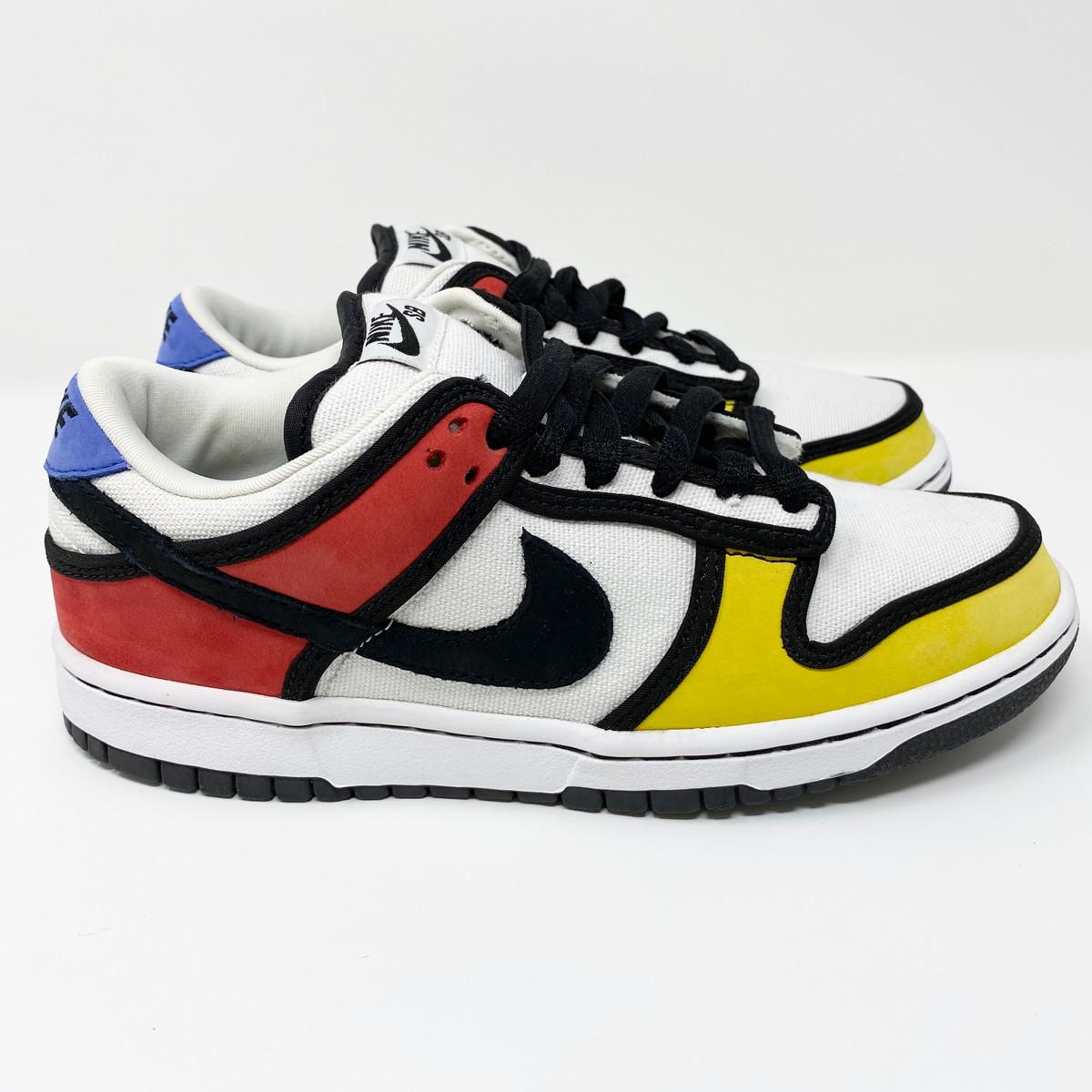 Nike Dunk Low Pro SB Piet Mondrian