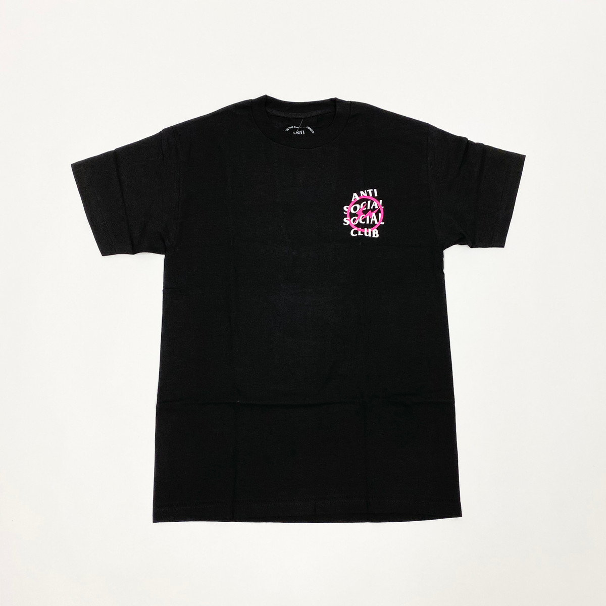 Anti Social Social Club Fragment Tee Pink Bolt