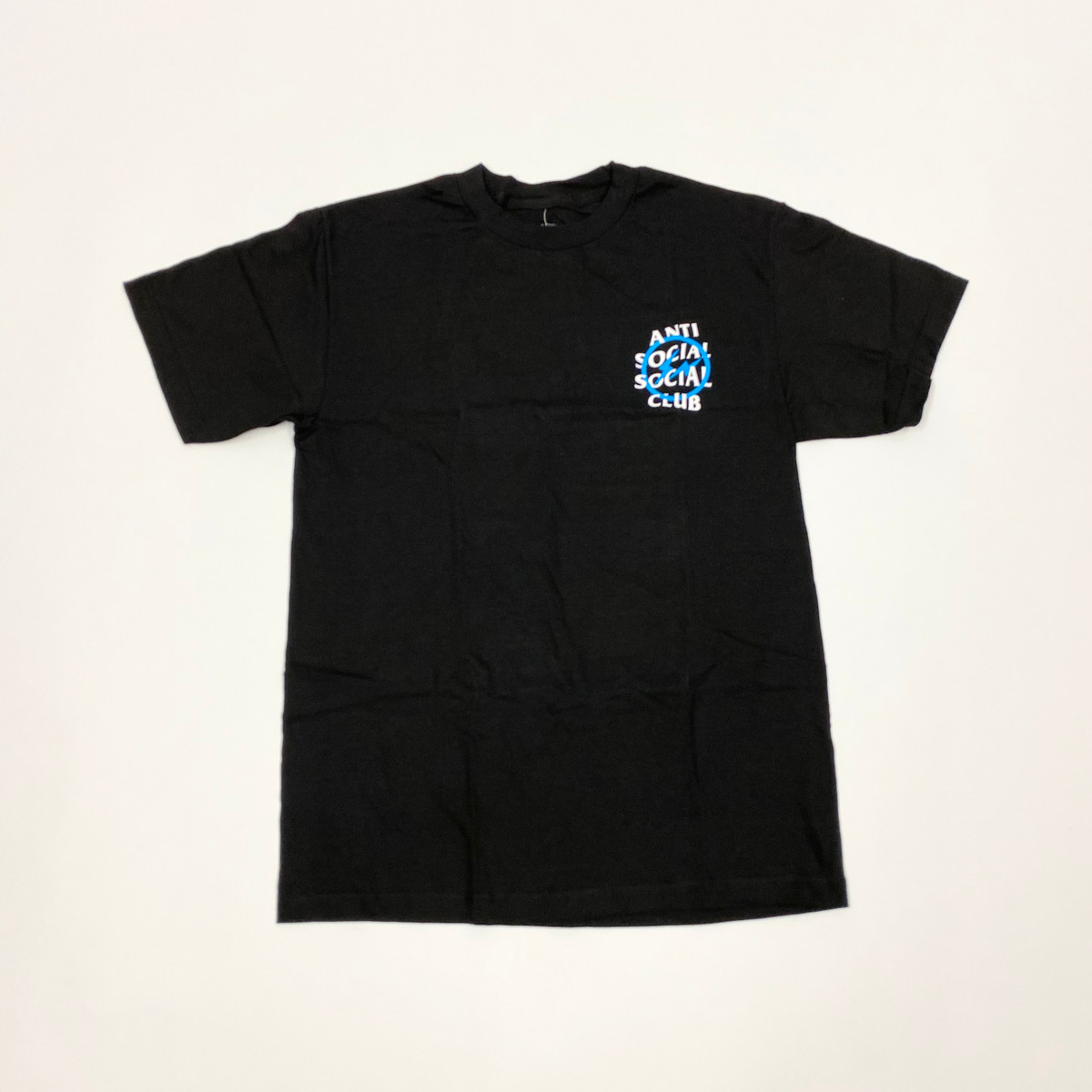 Anti Social Social Club Fragment Tee Blue Bolt