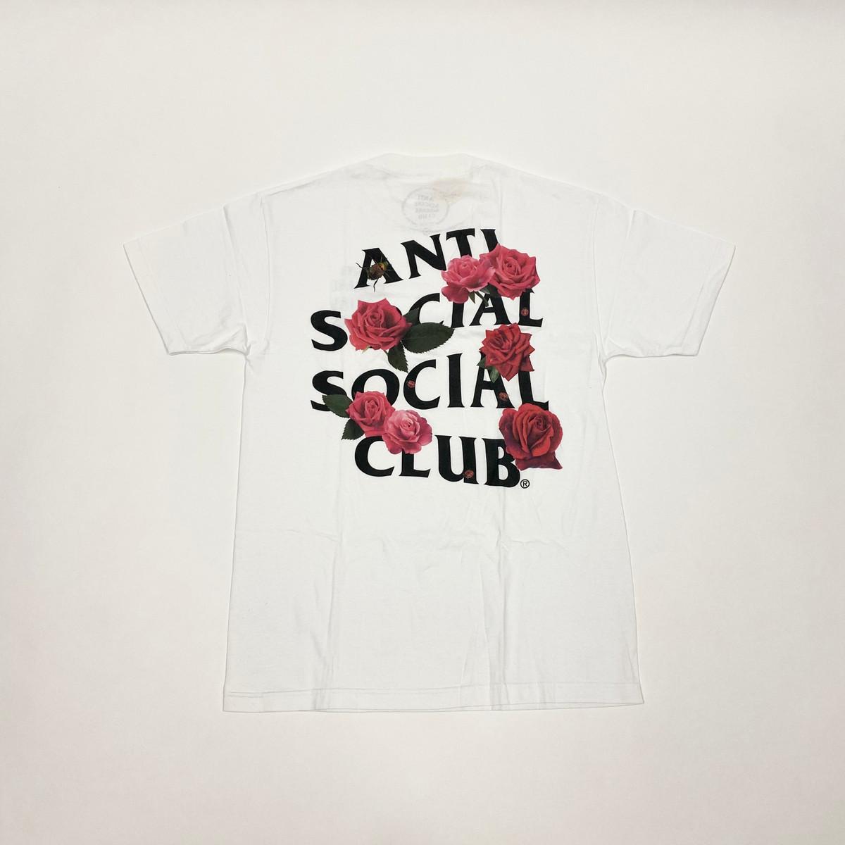 Anti Social Social Club Smells Bad Tee White