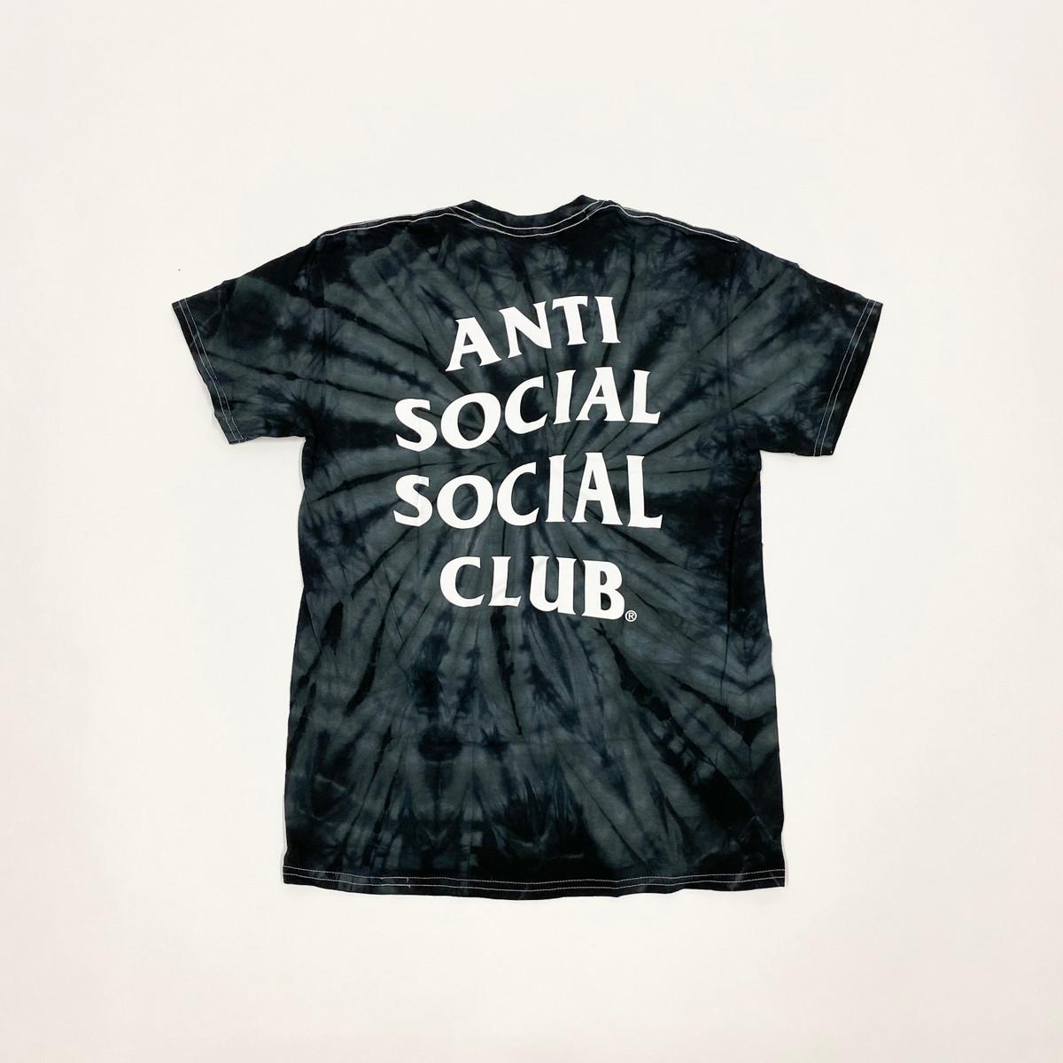 Anti Social Social Club Laguna TieDye Tee Black