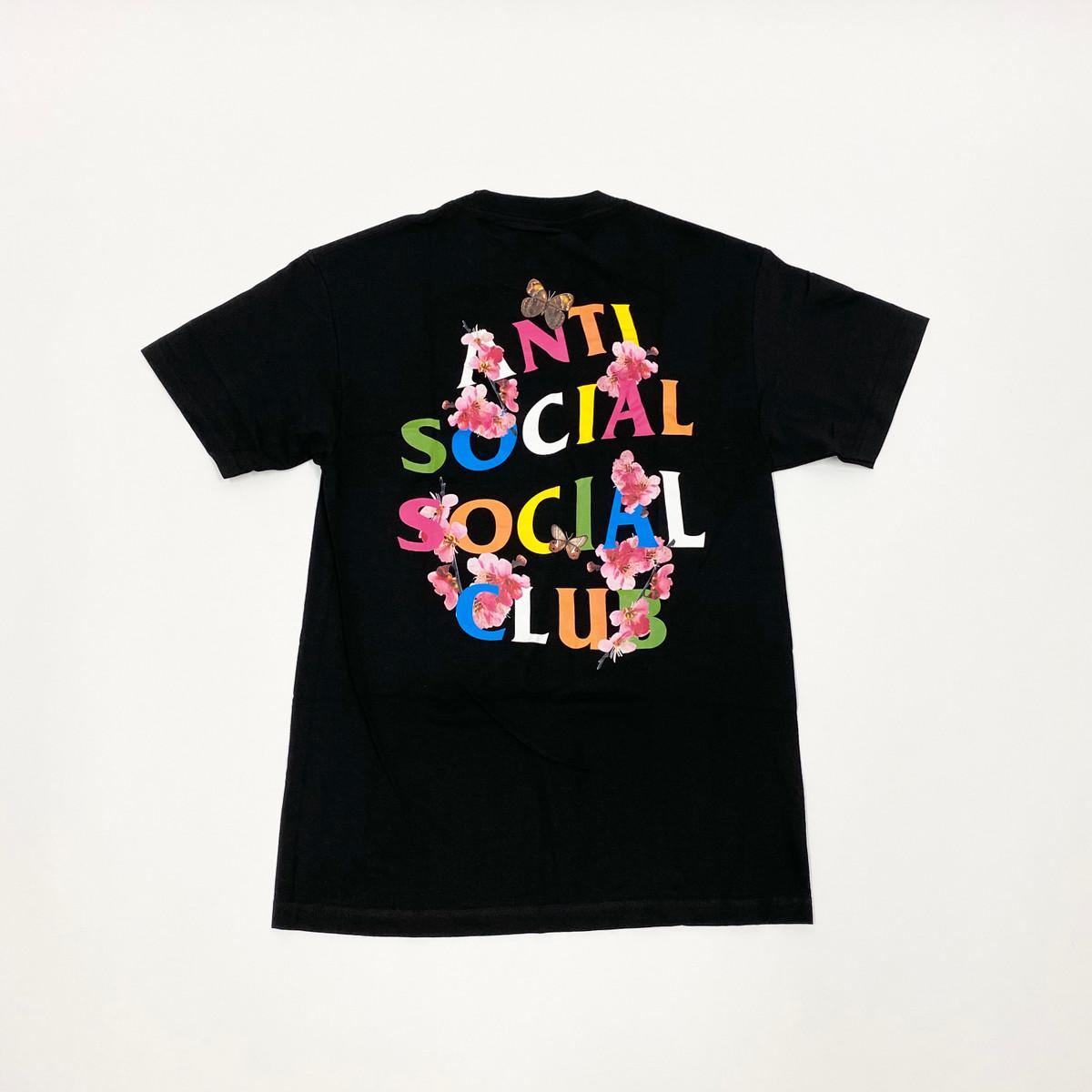 Anti Social Social Club Frantic Tee Black