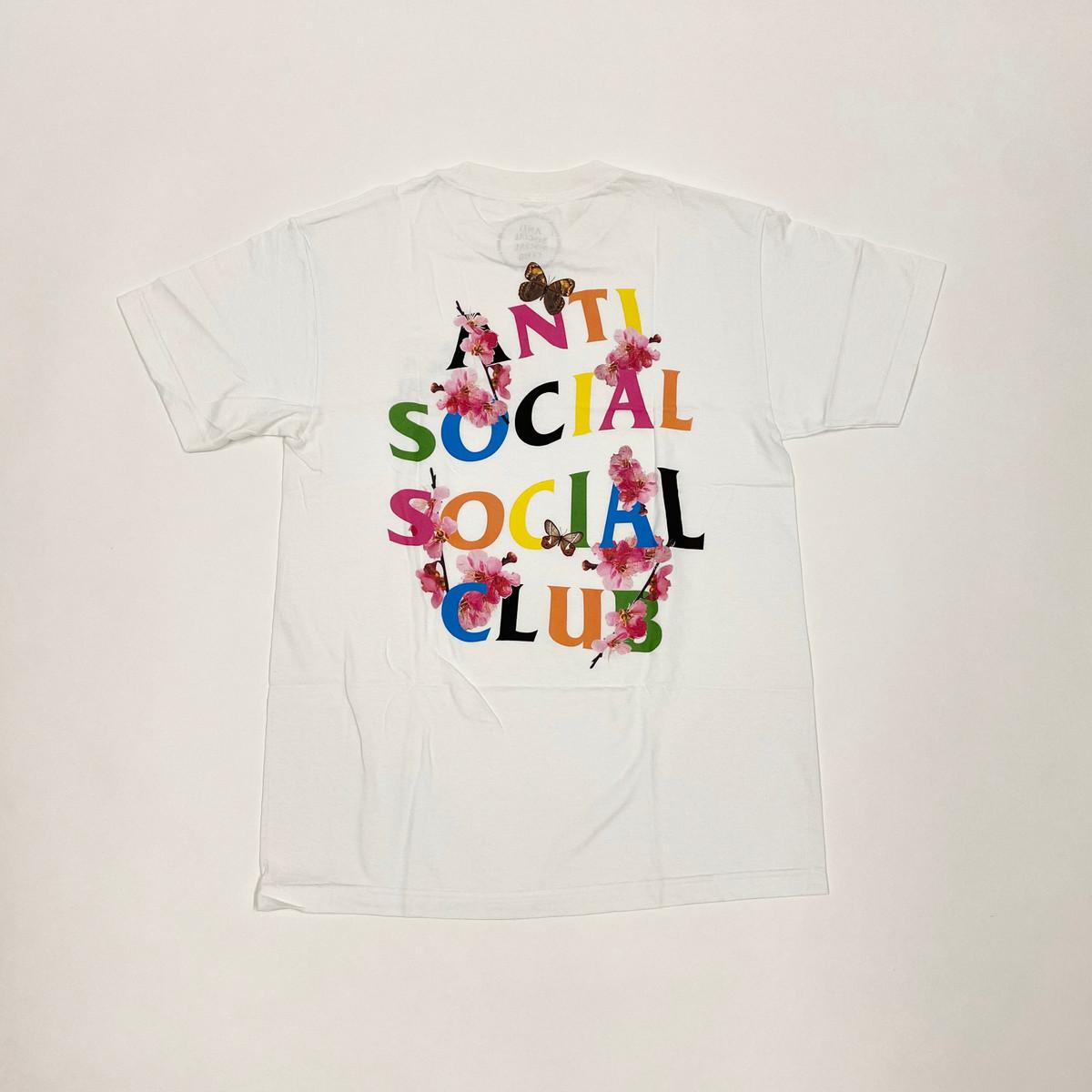Anti Social Social Club Frantic Tee White