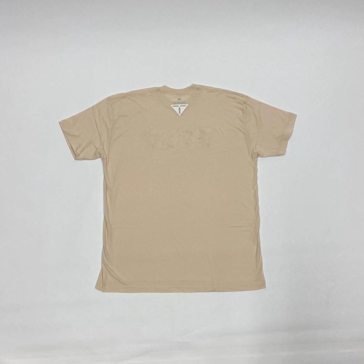 Truest Hibiscus T-shirt Beige