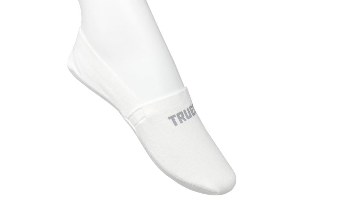 Truest noShow nonSlip Socks White