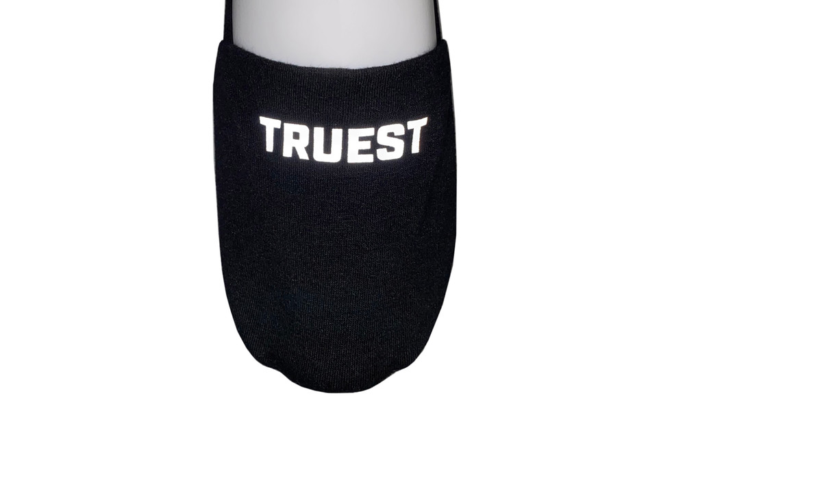 Truest noShow nonSlip Socks Black