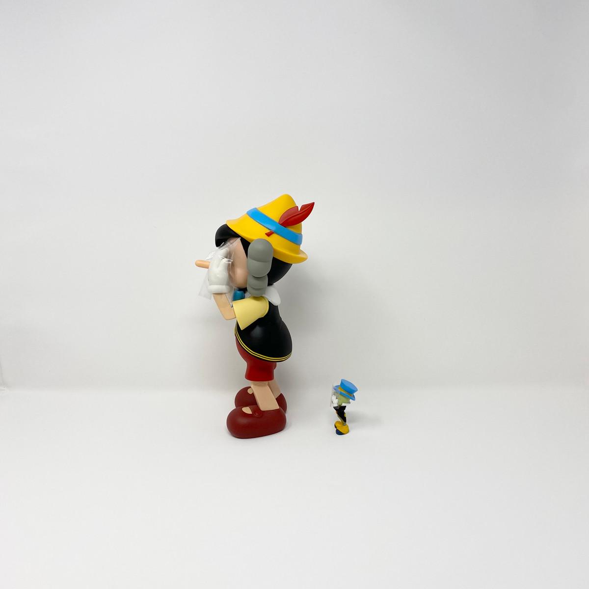KAWS Pinnochio & Jiminy Cricket Set