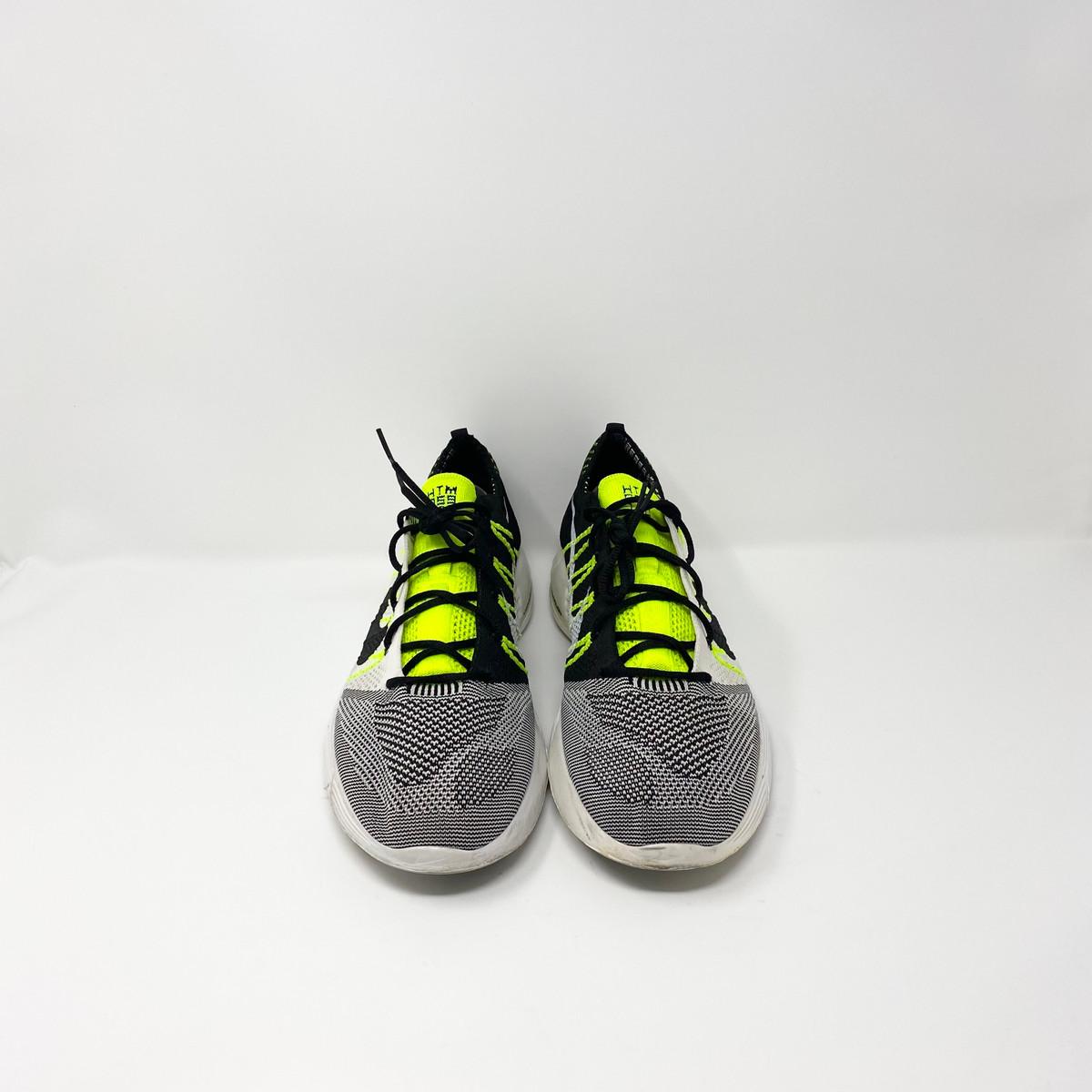 Nike Flyknit Lunar HTM White Black Volt