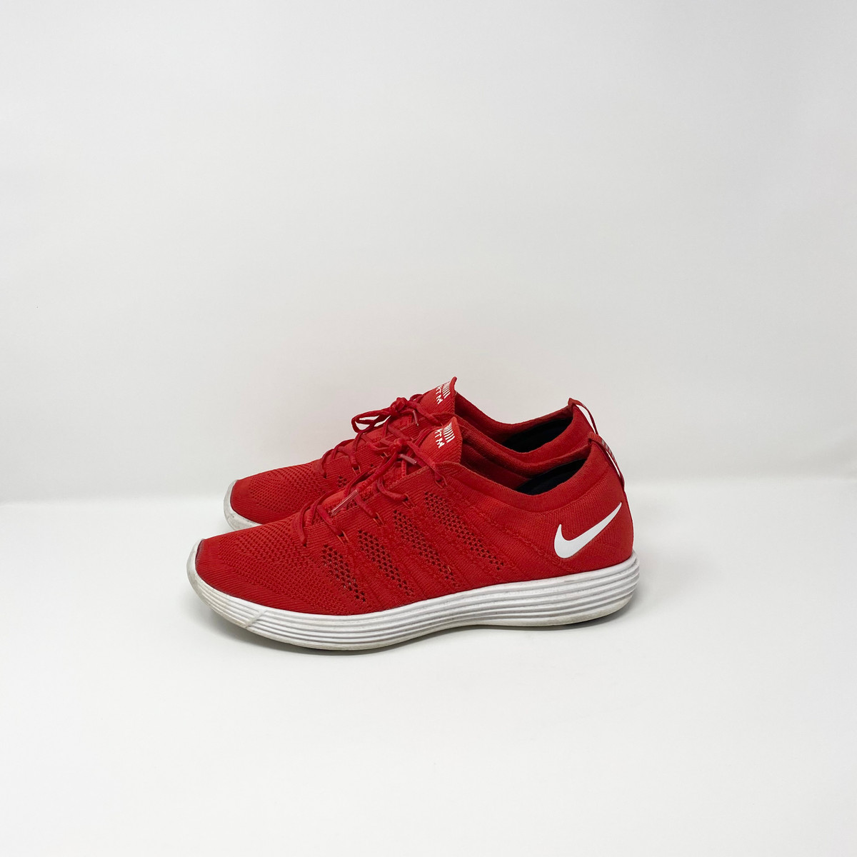 Nike Flyknit Lunar HTM NRG Red