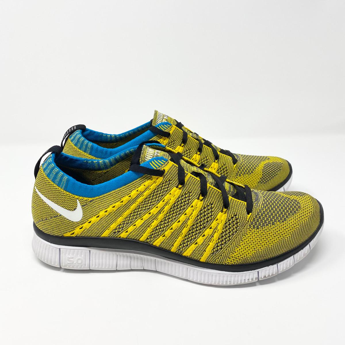 Nike Flyknit Free HTM Tour Yellow