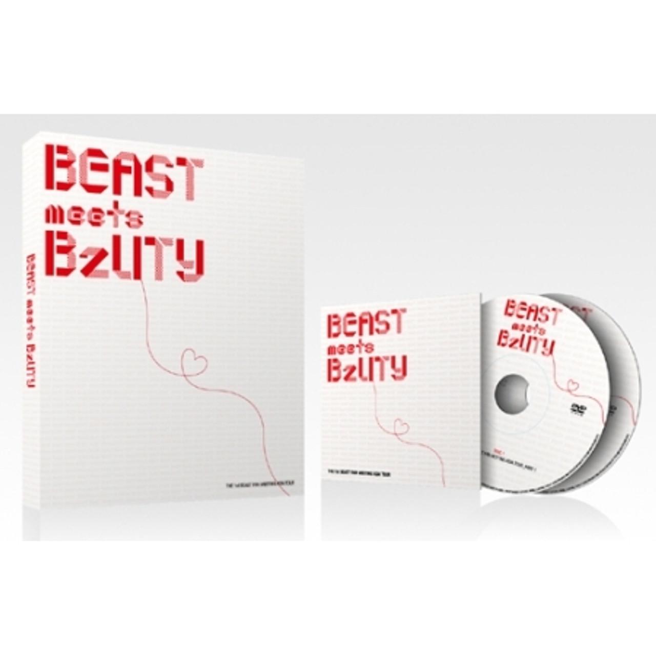 BEAST/ 1ST Asia Fan meeting Tour making book+DVD