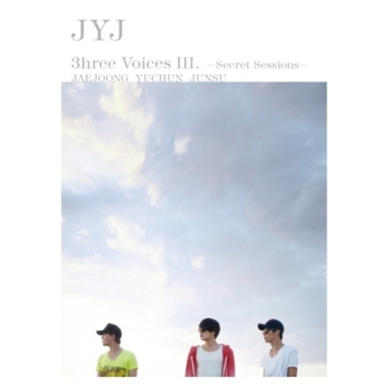 JYJ - 3hree Voices III / Secret Sessions (2DVD+Poster On Package)