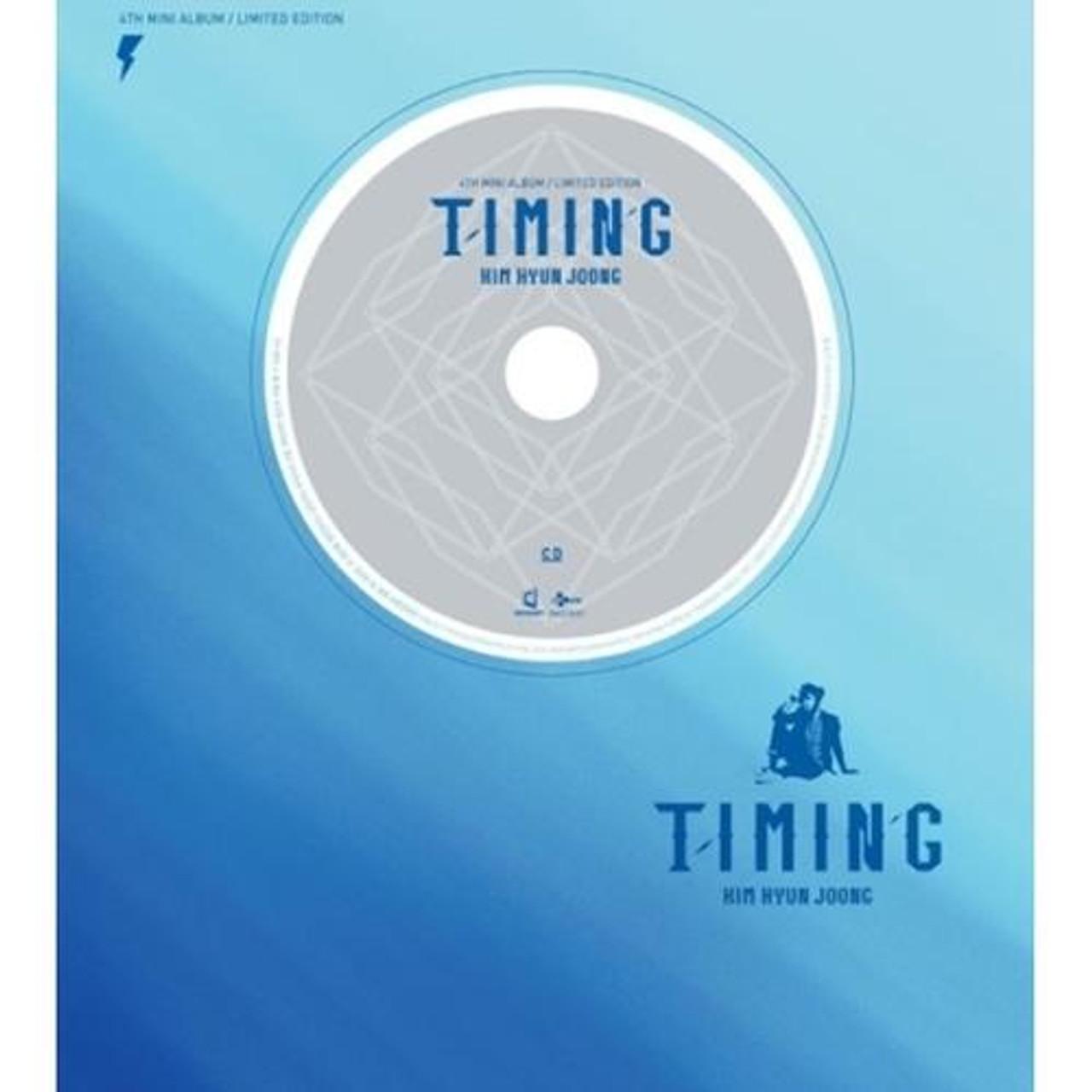 Kim Hyun Joong - 4th Mini Album / Timing (LIMITED EDITION)