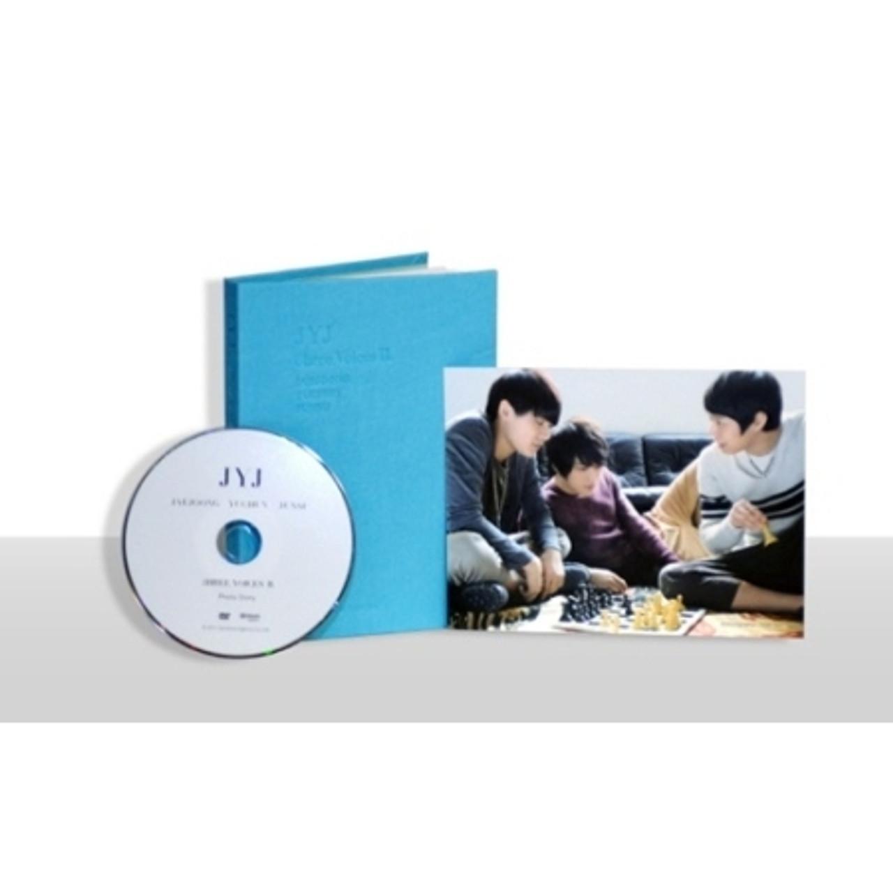 JYJ - 3hree Voices 2 Photo Story (Mini Photo Book+Postcard Free)