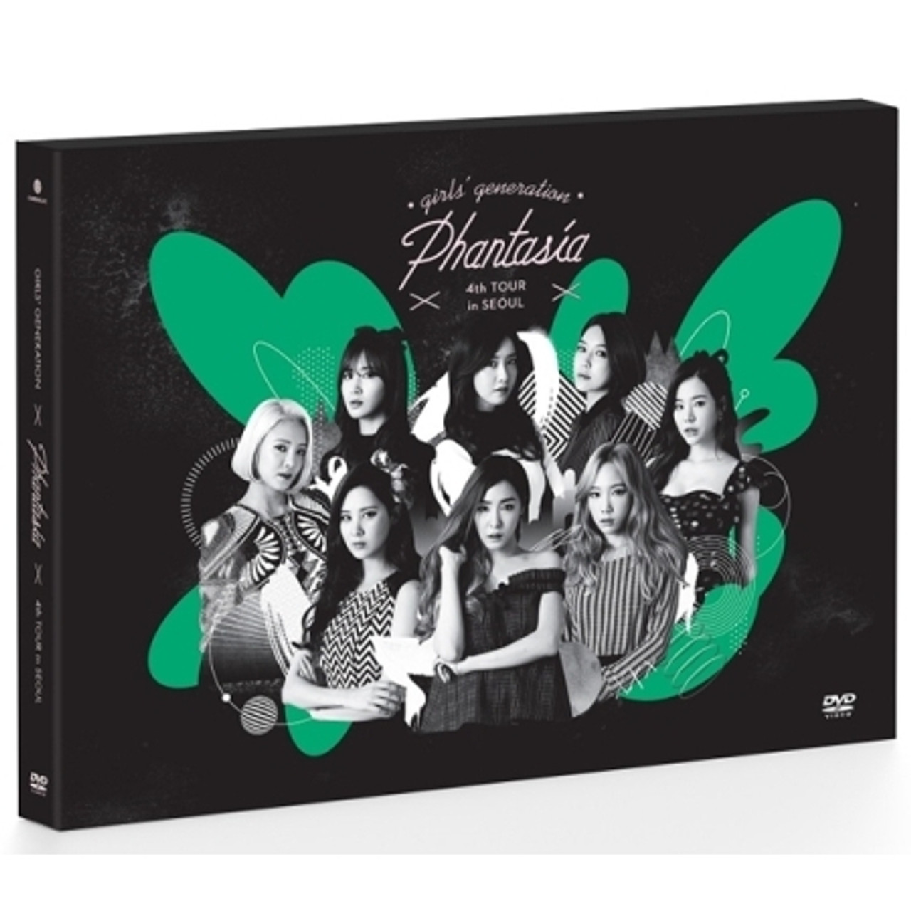 Girls Generation - 4th Concert [PHANTASIA] IN SEOUL DVD (2 DISC)