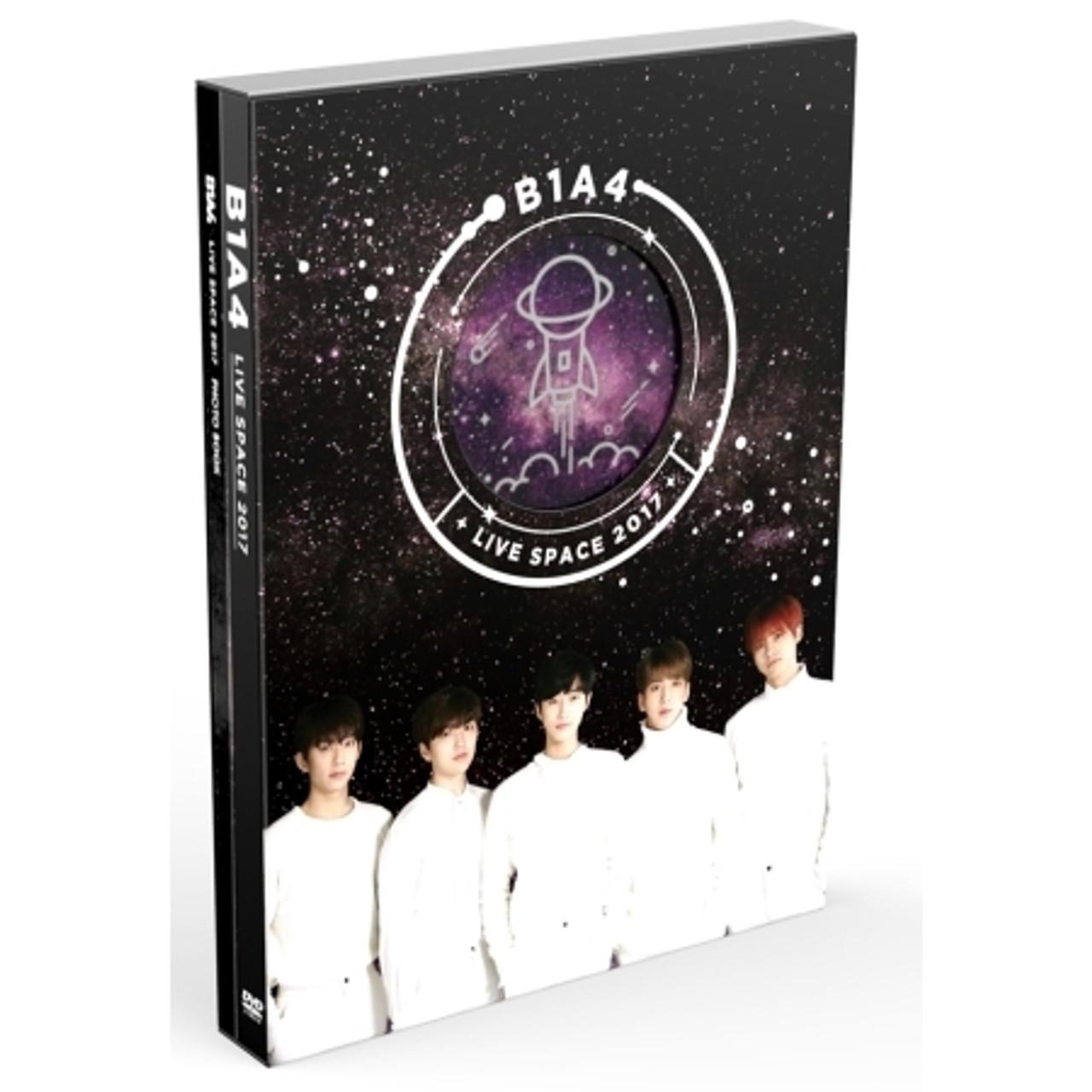 B1A4 LIVE SPACE 2017(2DISC+80P Photobook)