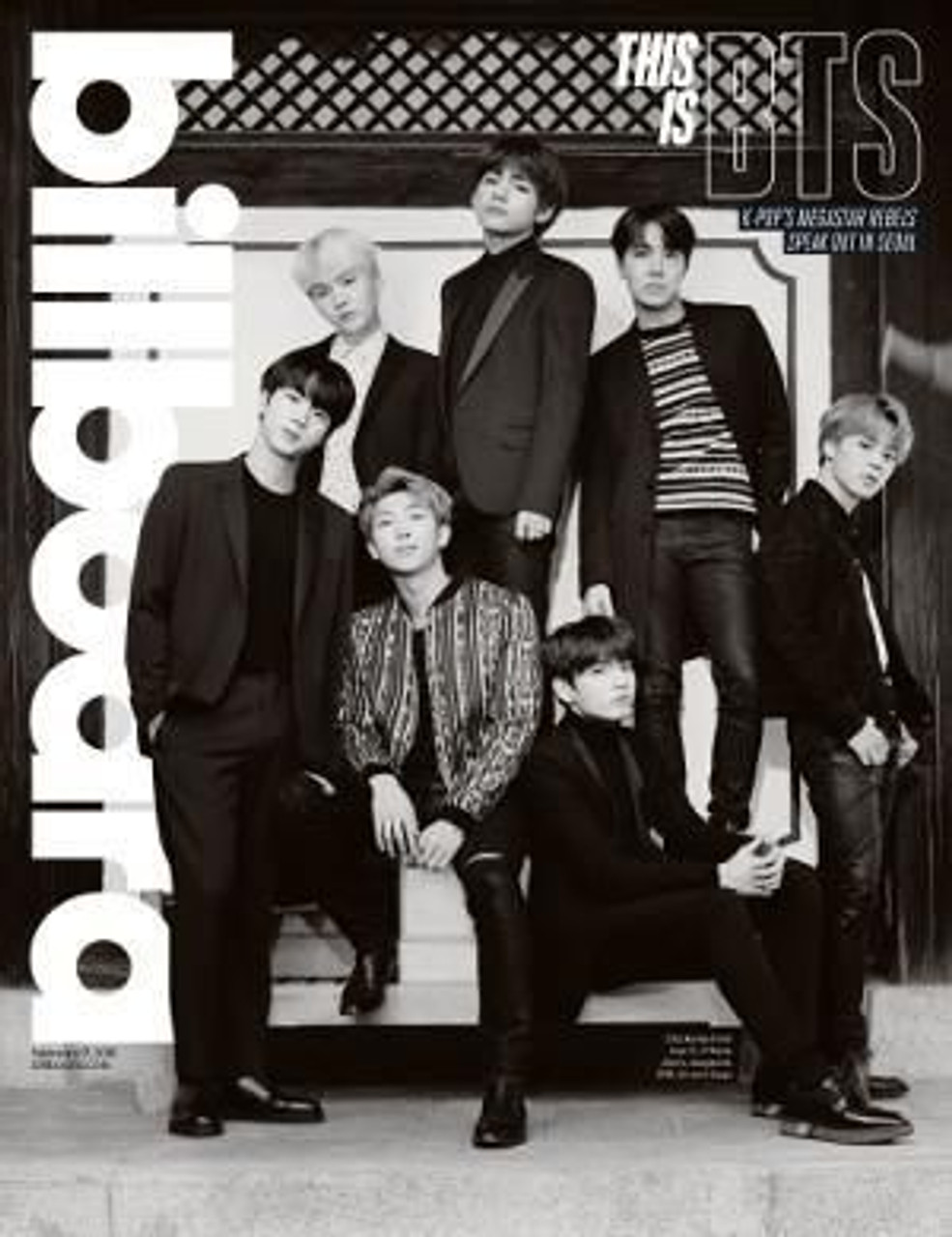 Billboard - BTS Group Cover