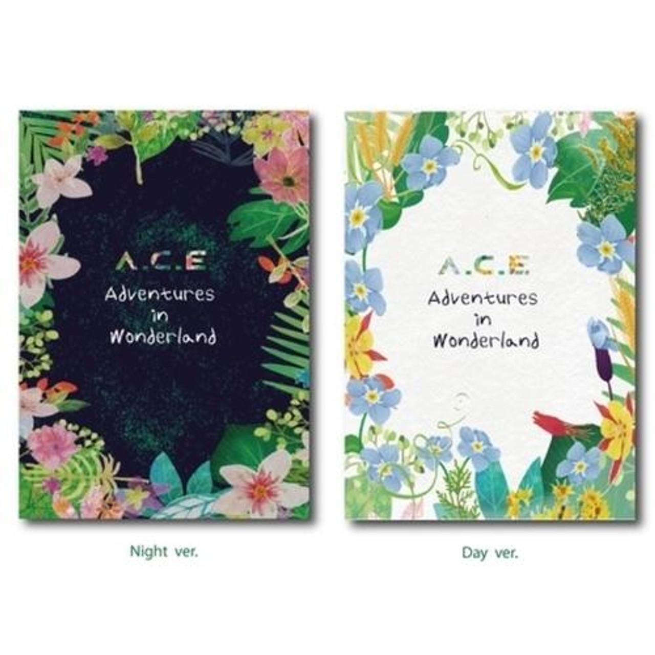 A.C.E - Repackage [ADVENTURES IN WONDERLAND] (NIGHT/ DAY Random)