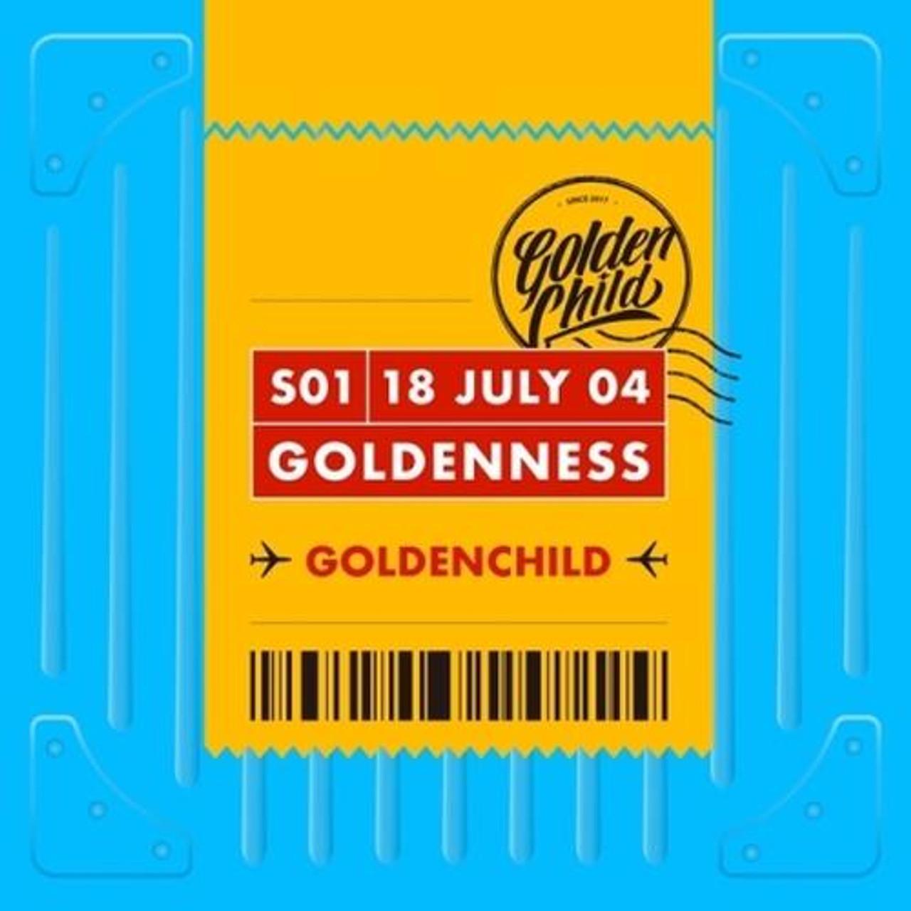 Golden Child - 1st Single  [Goldenness] B ver.