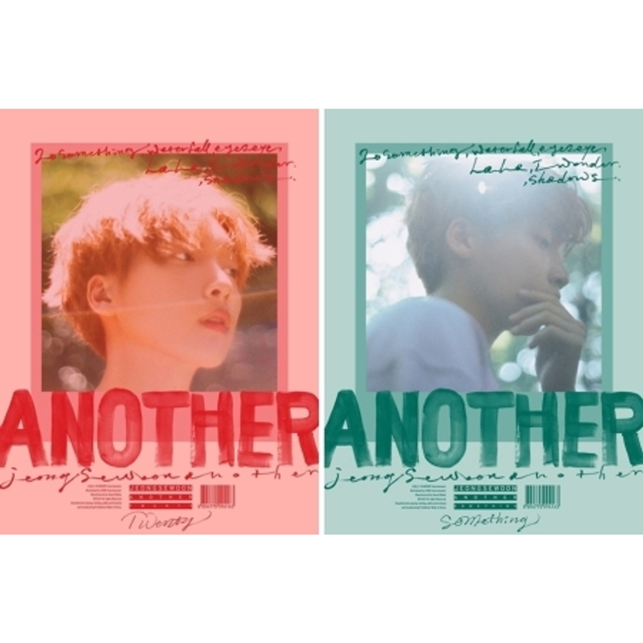 JEONG SEWOON - 2nd Mini [ANOTHER] B ver. + Poster