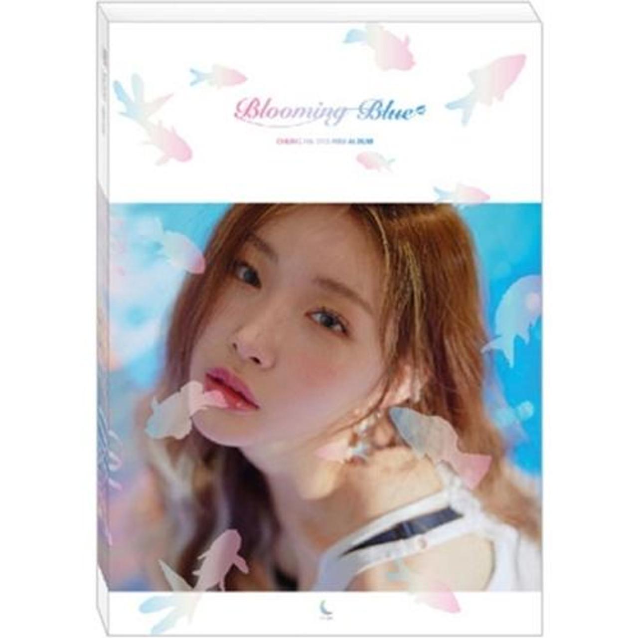 CHUNG HA - 3rd Mini [Blooming Blue] + Poster