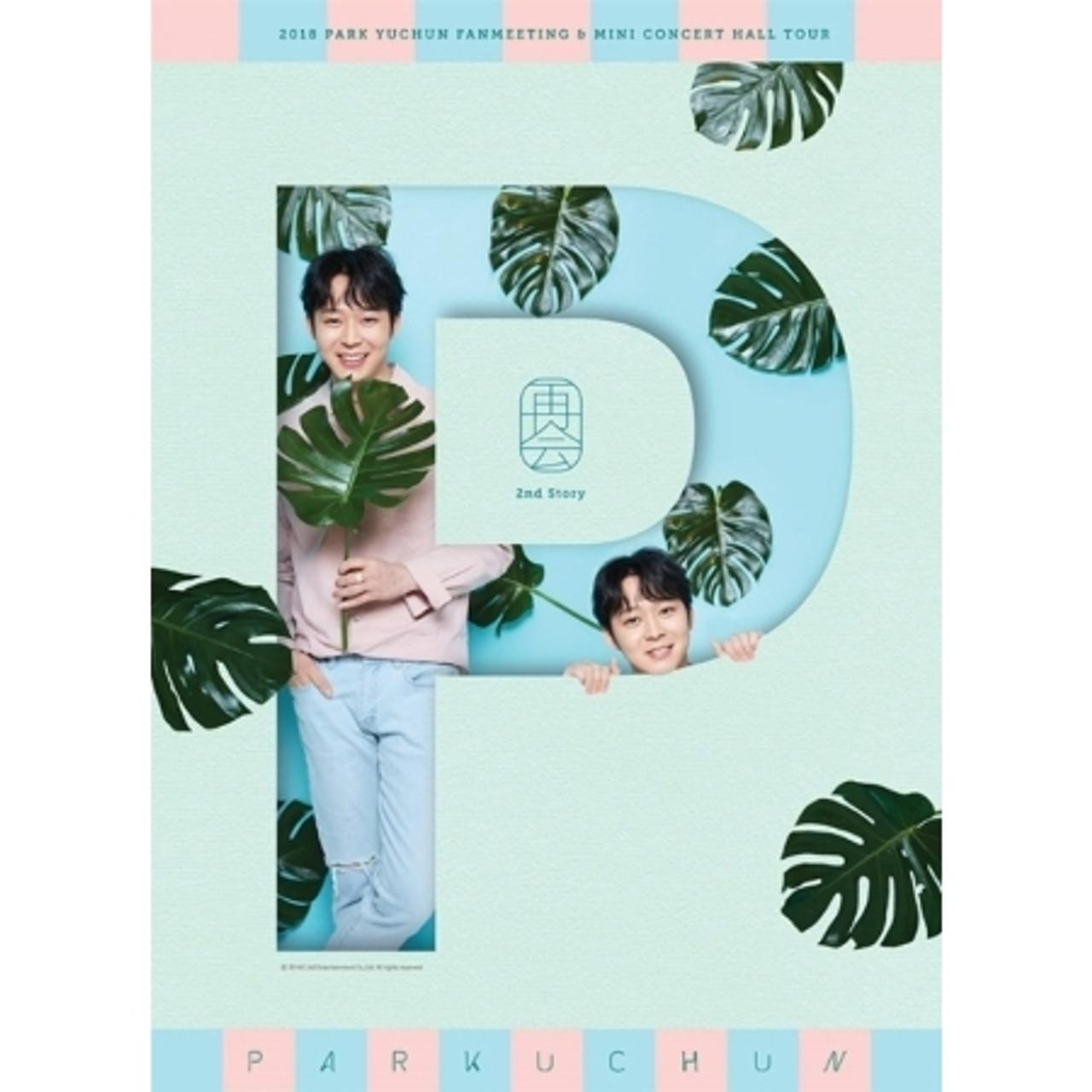 PARK YU CHUN - 2018 PARK YU CHUN FANMEETING & MINI CONCERT HALL TOUR DVD