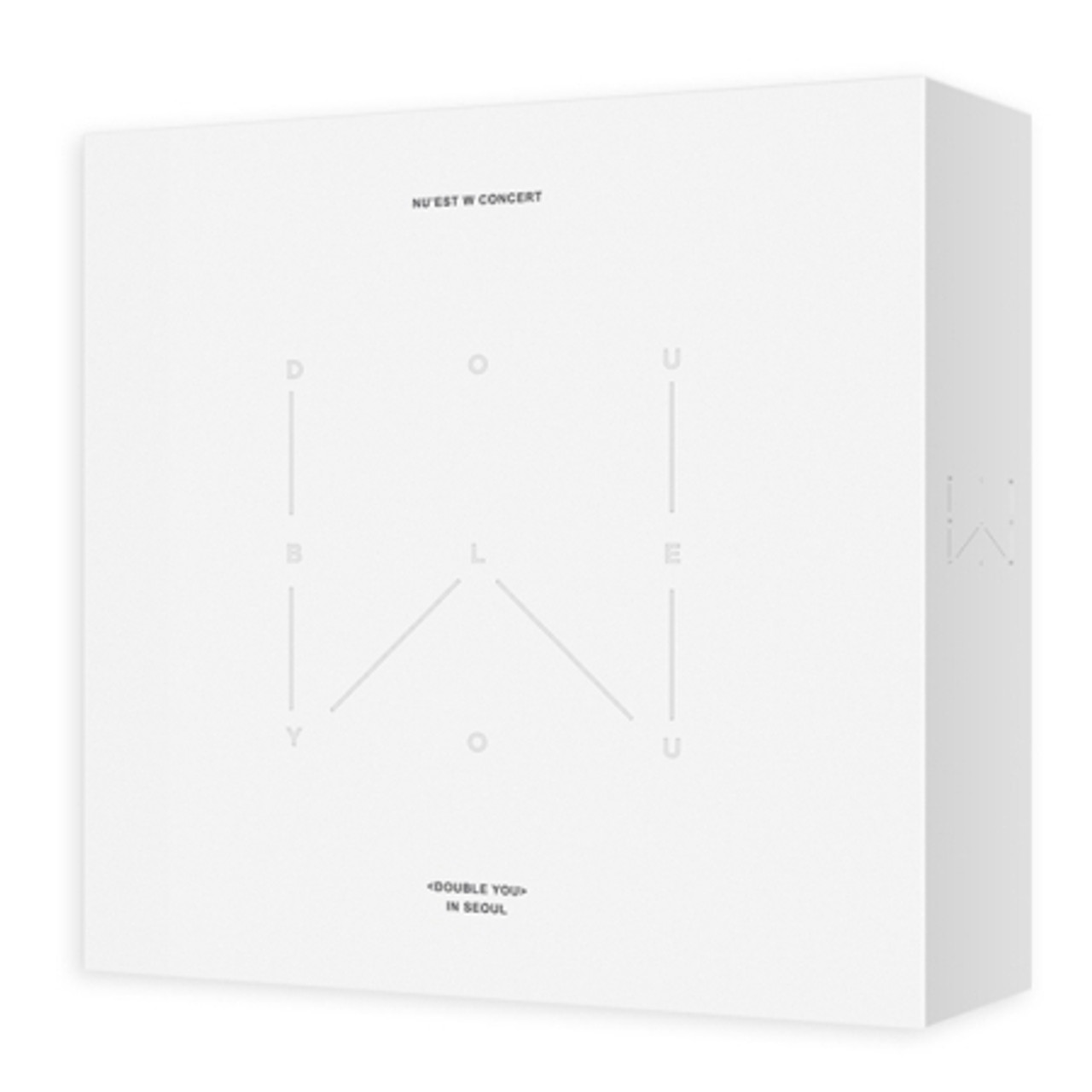 NUEST - W CONCERT  <DOUBLE YOU> IN SEOUL DVD