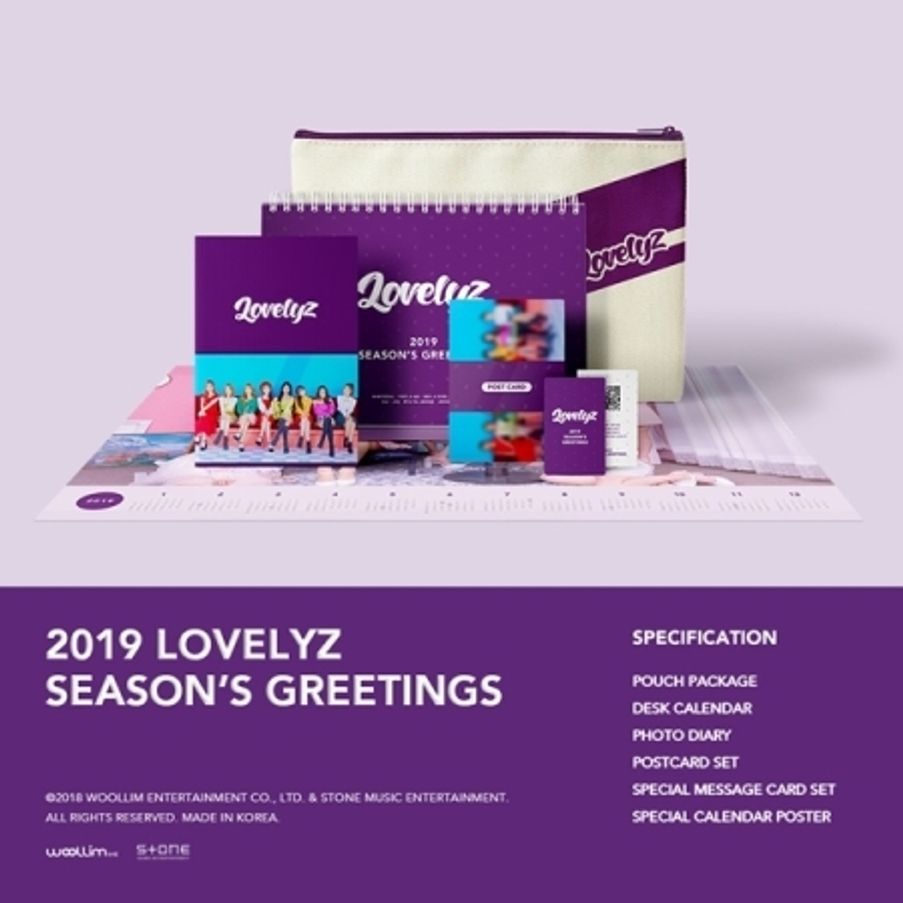 LOVELYZ - 2019 LOVELYZ SEASON GREETINGS + Poster