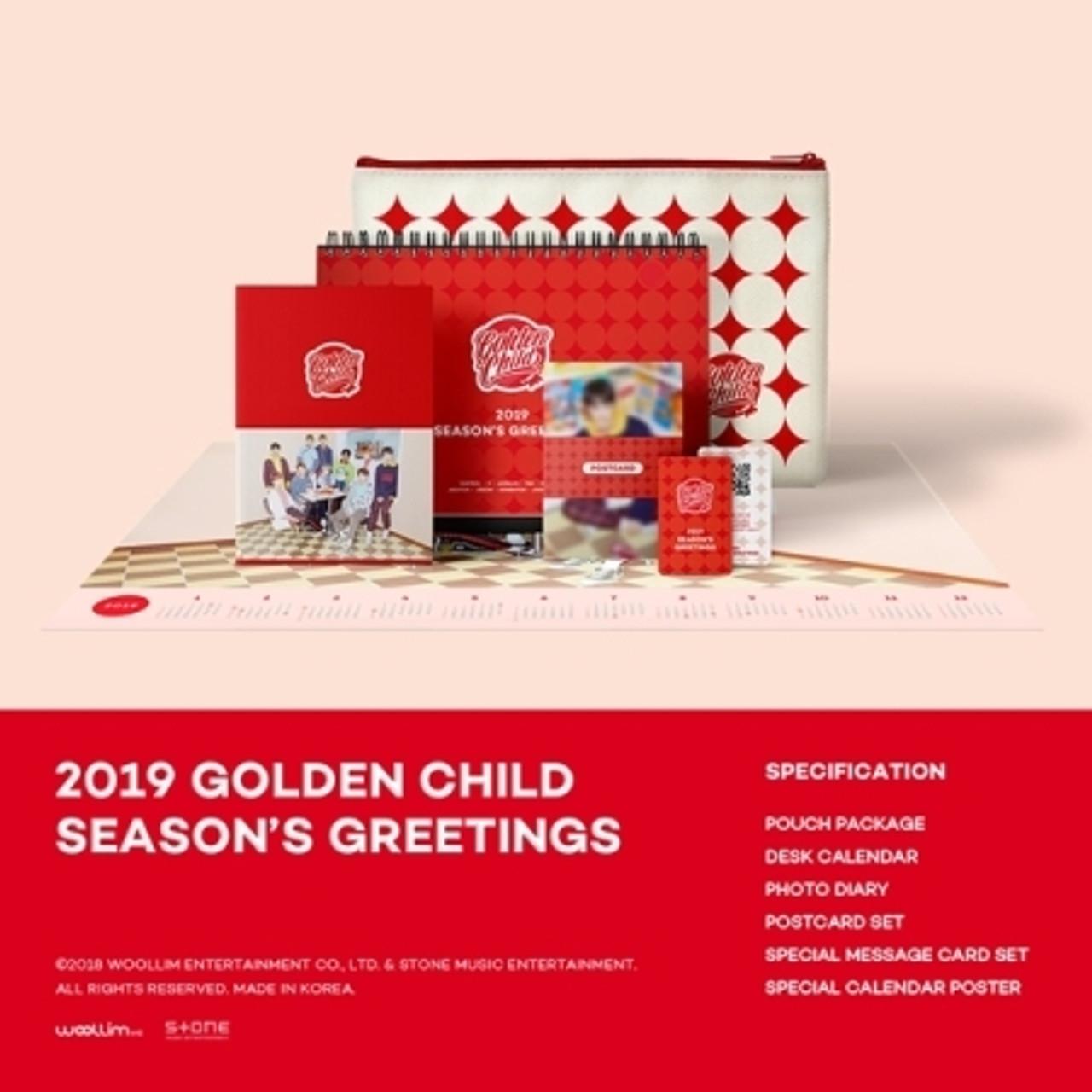 GOLDEN CHILD - 2019 GOLDEN CHILD SEASON GREETINGS + Poster