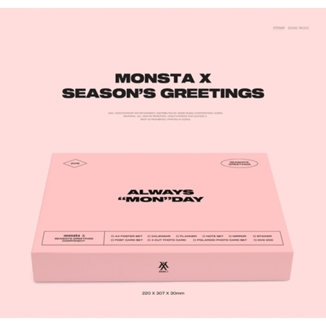 MONSTA X - 2019 SEASON GREETINGS