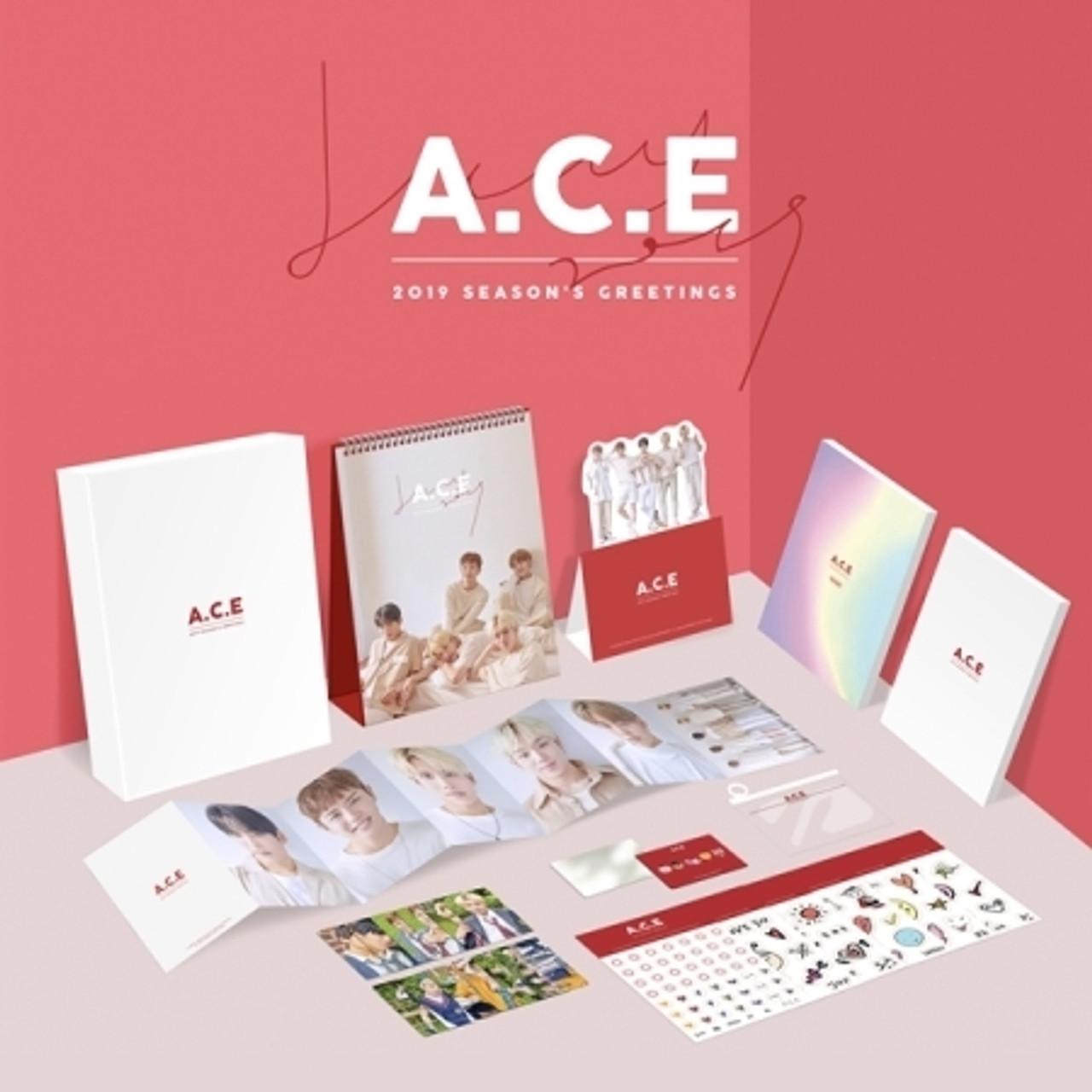 A.C.E - 2019 SEASON GREETINGS + Poster
