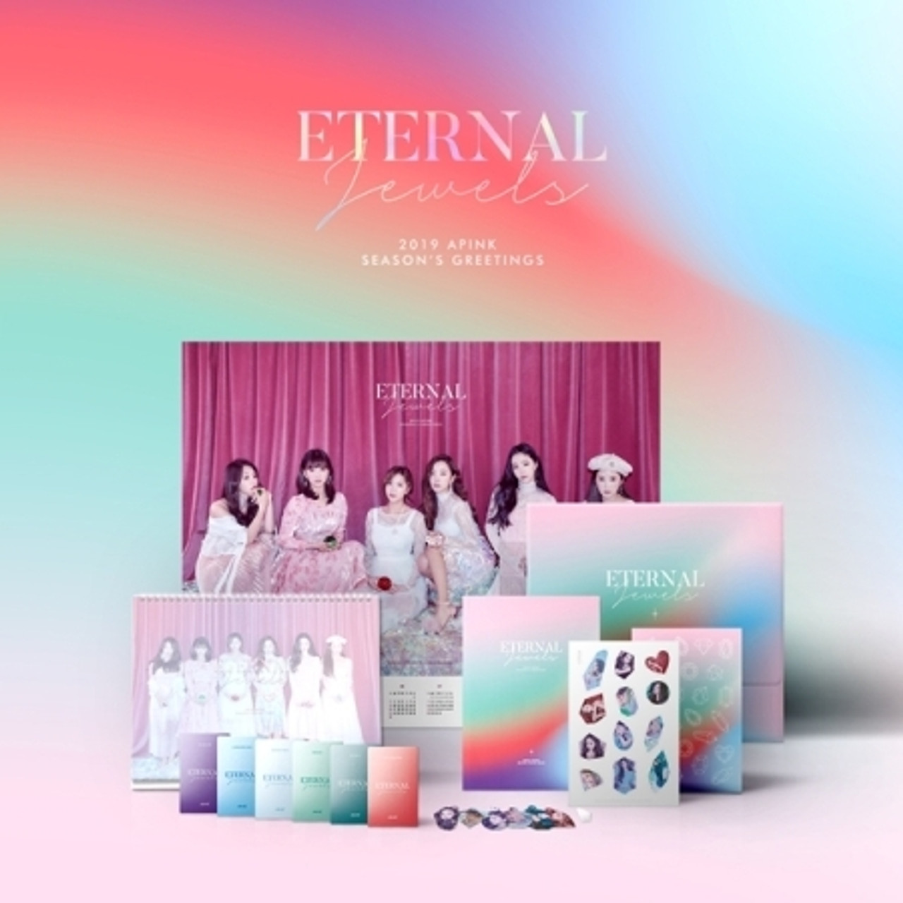 Apink - 2019 Seasons Greetings [ETERNAL JEWELS]