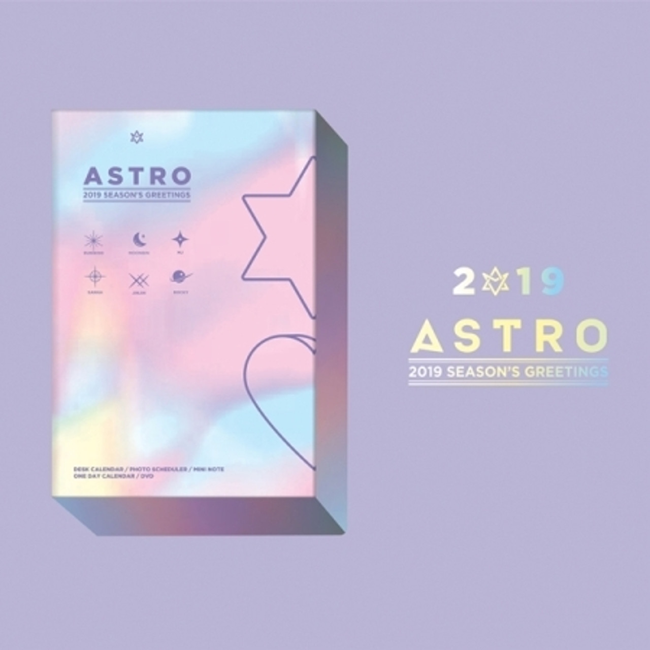 ASTRO - 2019 SEASONS GREETINGS [HOLIDAY Ver.]poster