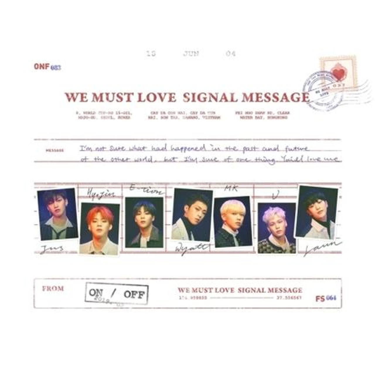 ONF - 3rd Mini [WE MUST LOVE]