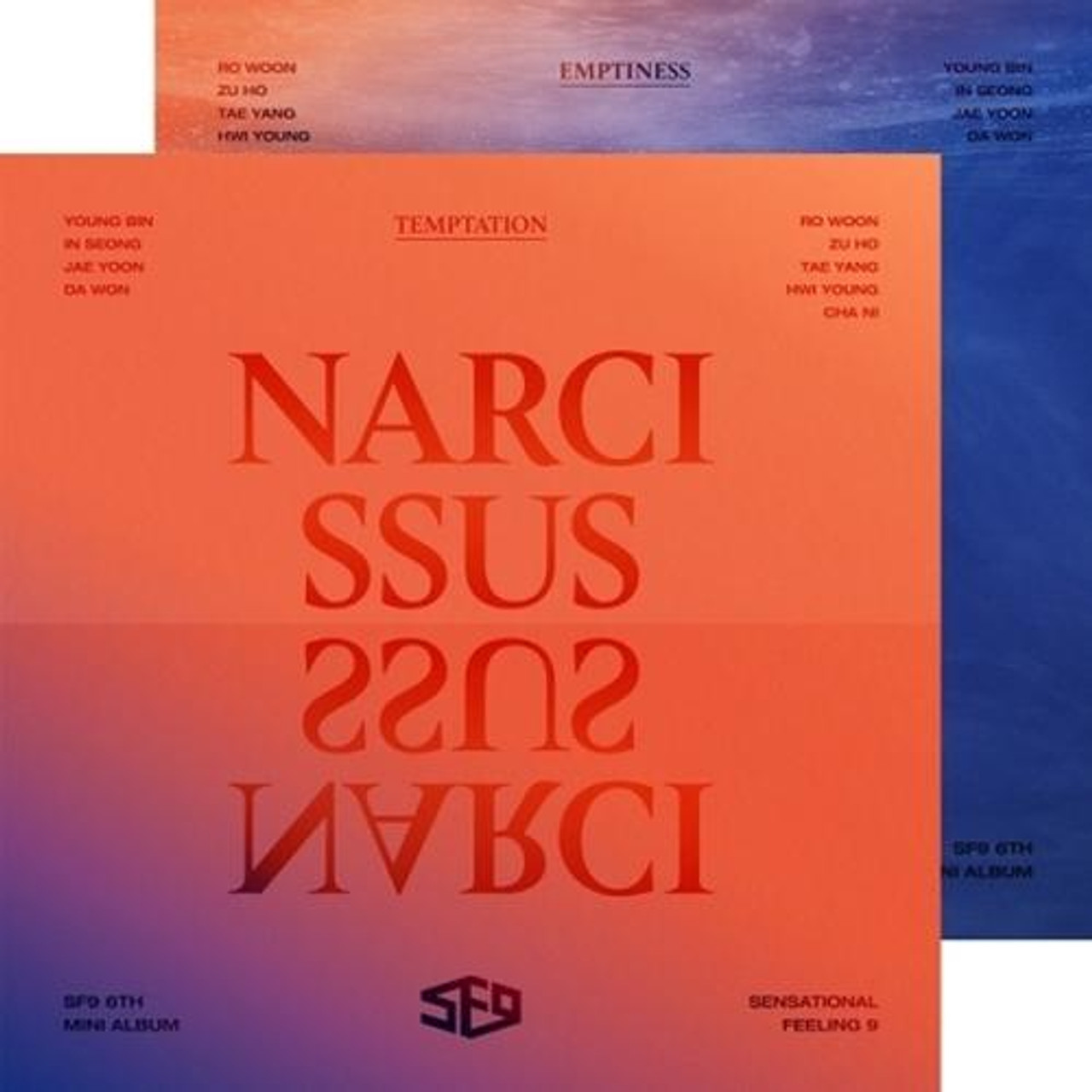 SF9 - 6th Mini [NARCISSUS] Random ver.  + Poster