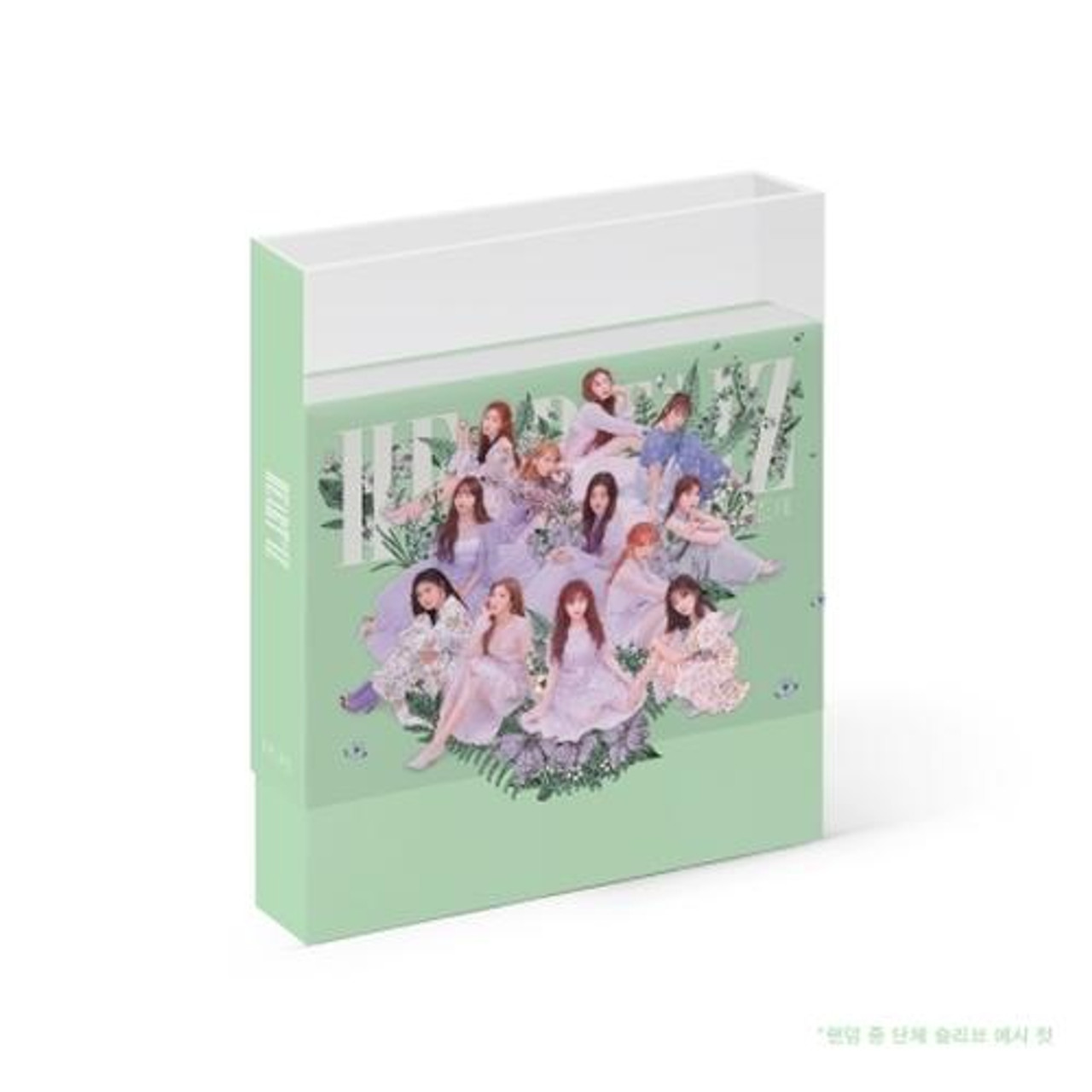 IZ*ONE - 2nd Mini [HEART*IZ] (A: Violeta/ B:SapphireVer.) + Poster