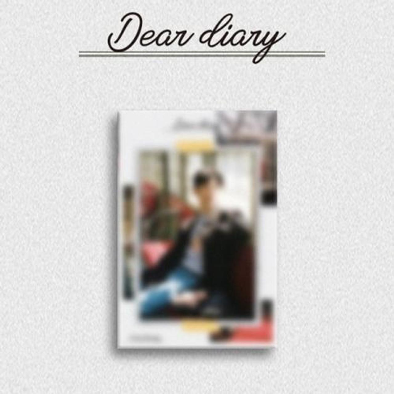 YOON JI SUNG - Special Album [Dear diary] (Kihno Album - DHL Shipping Only)