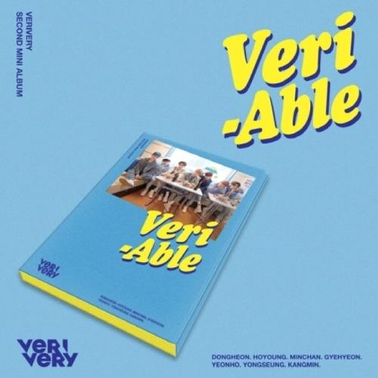 VERIVERY - 2nd Mini [VERI-ABLE] (Kihno Album - DHL Shipping Only)