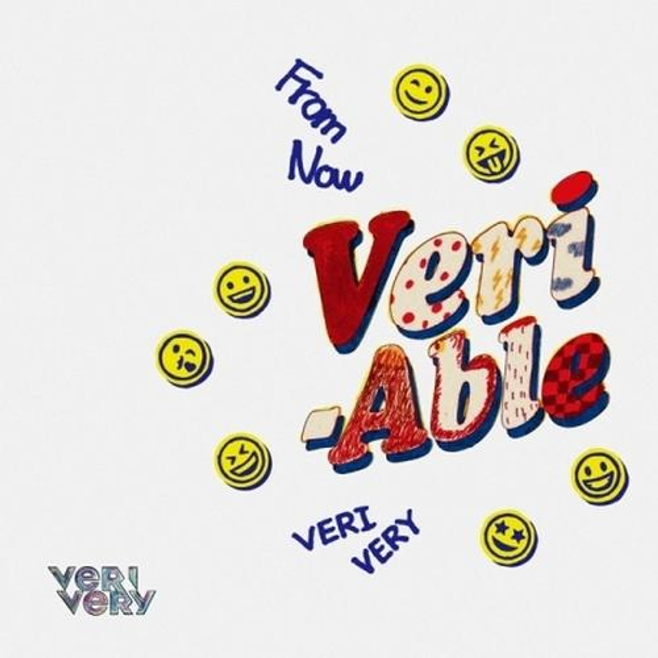 VERIVERY - 2nd Mini [VERI-ABLE] (DIY Ver.) (Limited Edition) + Poster