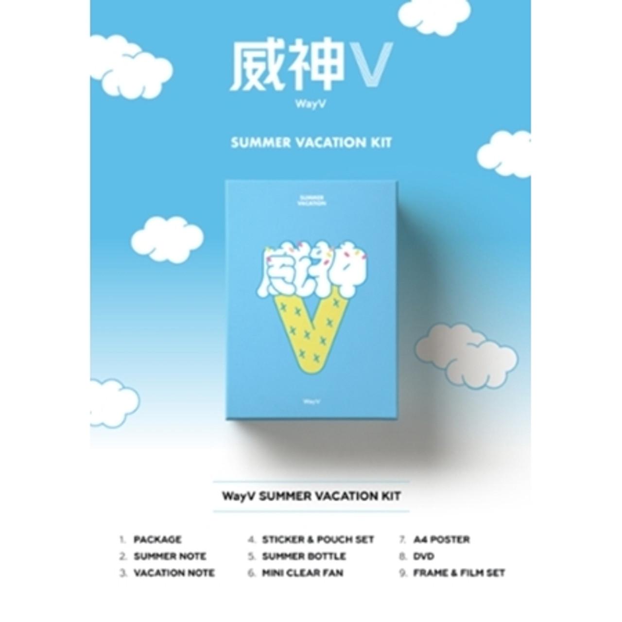 WayV - 2019 WayV SUMMER VACATION KIT