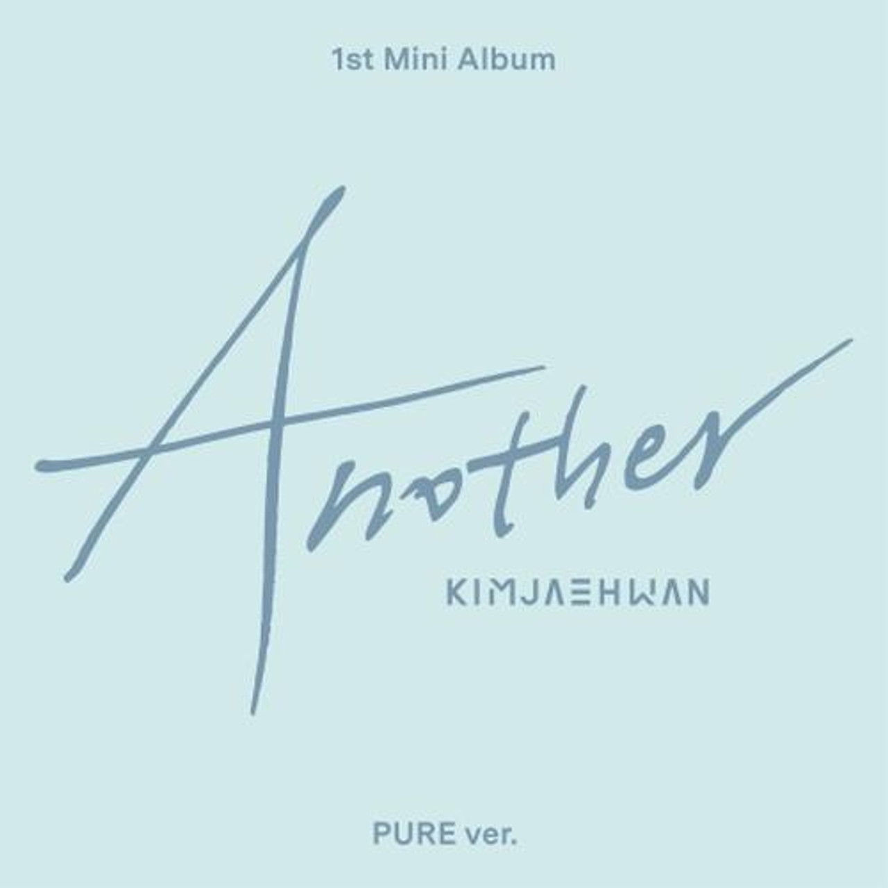 Kim Jae Hwan - 1st Mini [Another] Pure Ver. + Poster