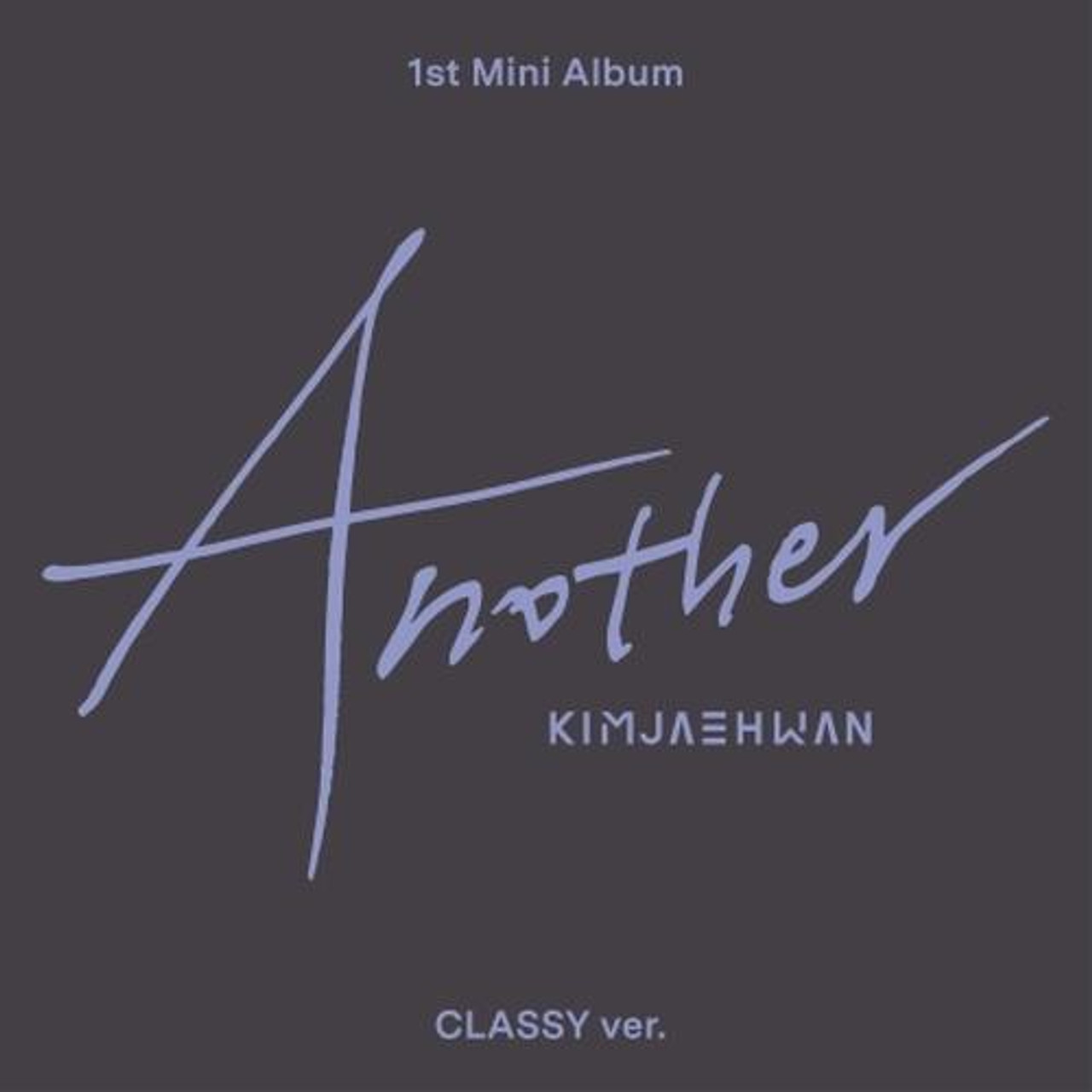 Kim Jae Hwan - 1st Mini [Another] Classy Ver. + Poster